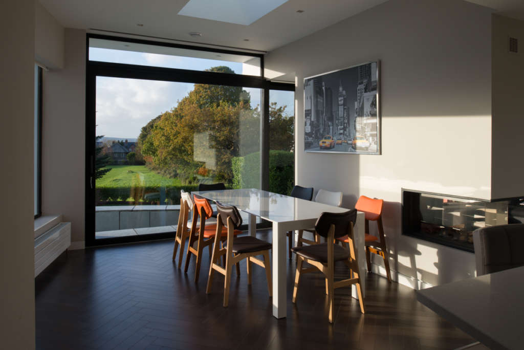Holywood extension dining space