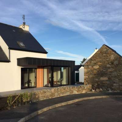 Completed extension, Dunfanaghy
