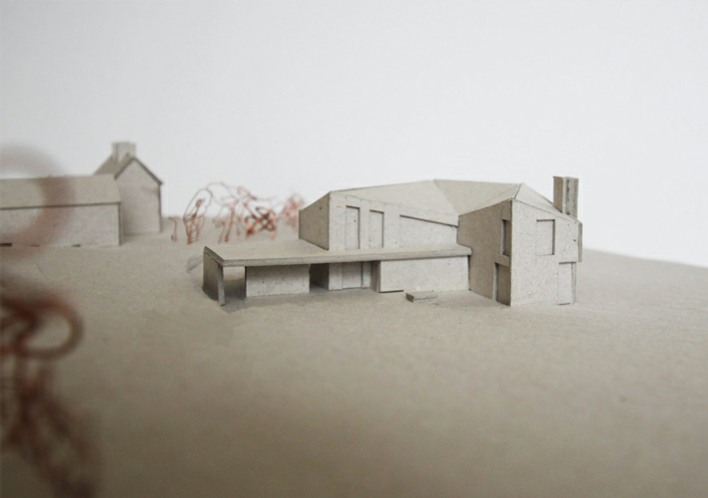 Glaslough farmhouse model