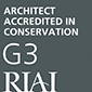 RIAI Architect Accredited in Conservation Grade 3