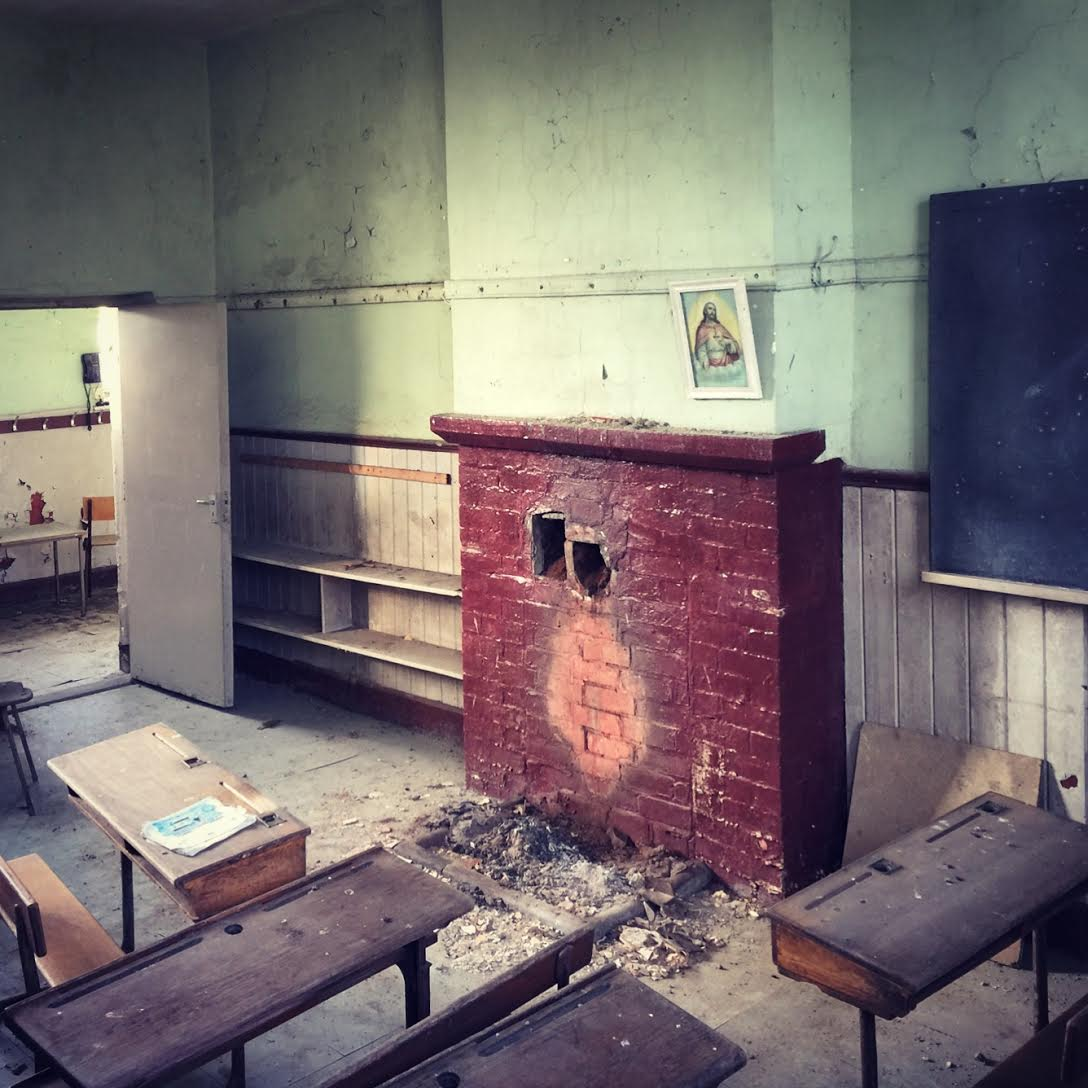 Killygarry School fireplace - The Great House Revival, RTÉ One