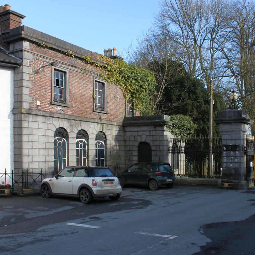 The restoration of Hope Castle gate lodge and re-purposing as Castleblayney library.
