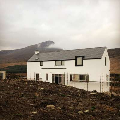 Site visit to Creeslough, Donegal