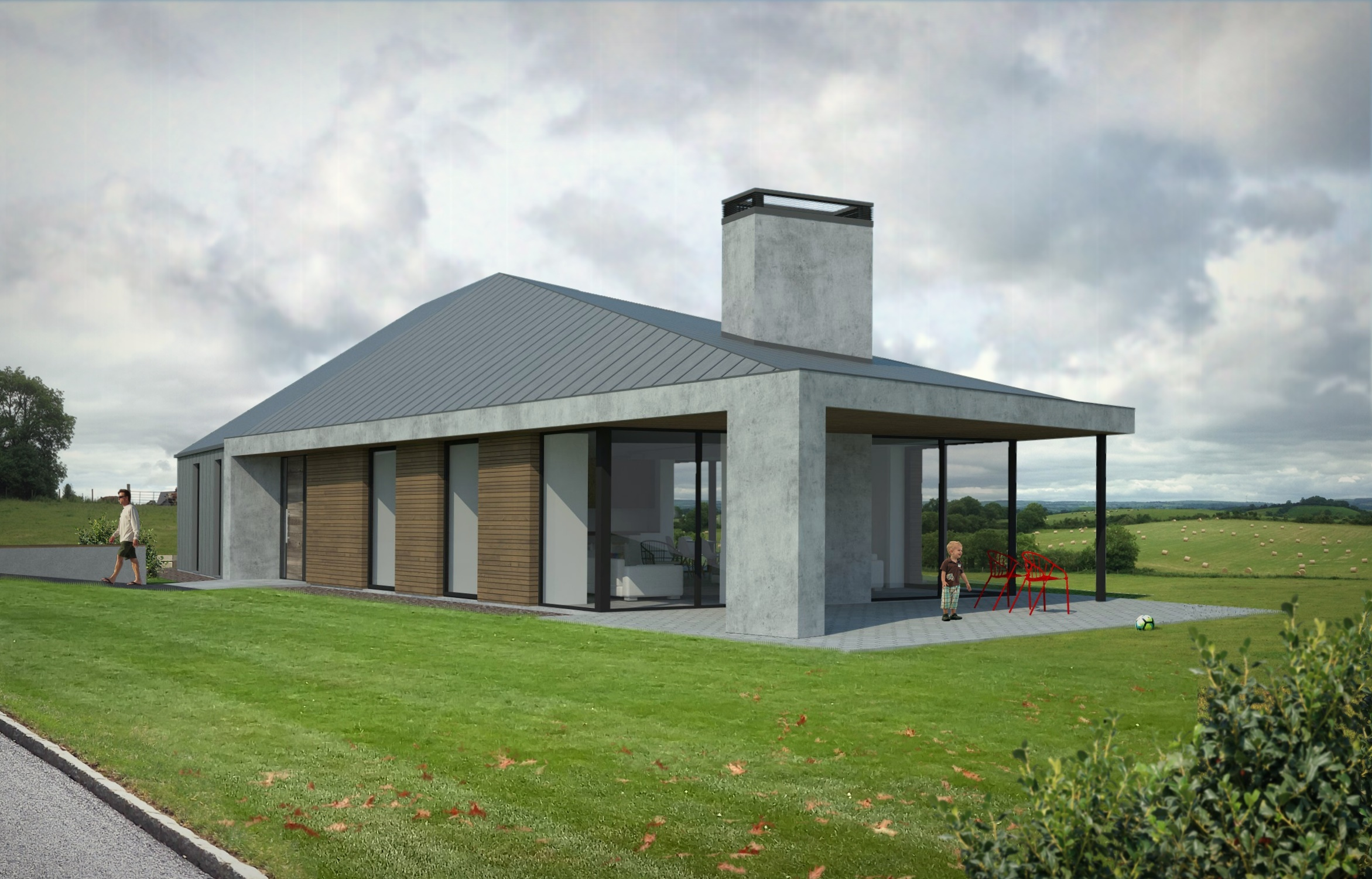 Newstone house
