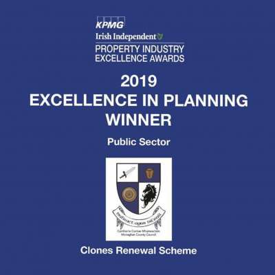 Clones Renewal Scheme – Excellence in Planning Award